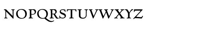 Village Roman Smallcaps Font LOWERCASE