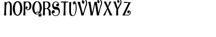 Vinnie Culture NF Regular Font UPPERCASE