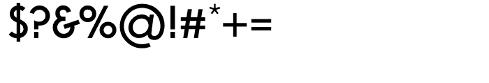 Virginia Medium Font OTHER CHARS