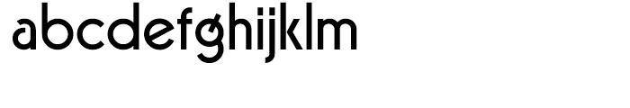 Virginia Medium Font LOWERCASE