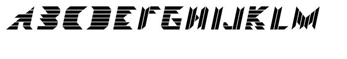 Visoko Regular Italic Font UPPERCASE