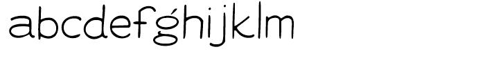 Vitrines Regular Font LOWERCASE