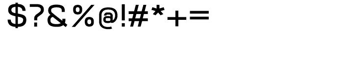 Vitro DemiBold Font OTHER CHARS