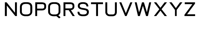Vitro DemiBold Font UPPERCASE