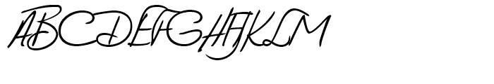 Vittorio Handwriting Regular Font UPPERCASE