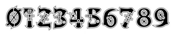 Victorian Cyborg Regular Font OTHER CHARS