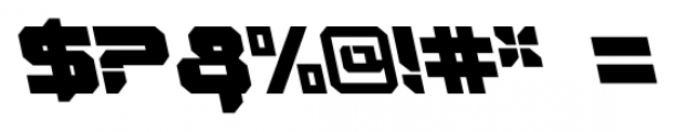 VideoTech Closed AItalic Regular Font OTHER CHARS
