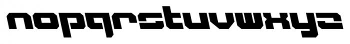 VideoTech Closed AItalic Regular Font LOWERCASE