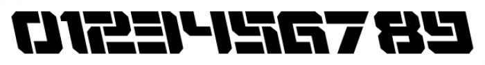 VideoTech Open AItalic Regular Font OTHER CHARS