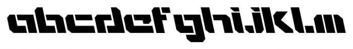 VideoTech Open AItalic Regular Font LOWERCASE