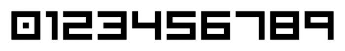 Visitor BRK Ten Pro Regular Font OTHER CHARS