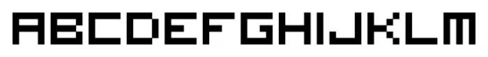 Visitor BRK Ten Pro Regular Font LOWERCASE