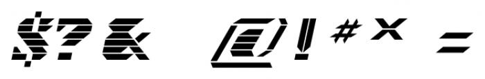 Visoko Italic Font OTHER CHARS