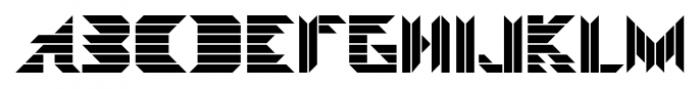 Visoko Regular Font UPPERCASE