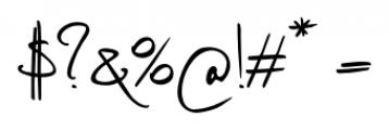 Vividangelo Script Font OTHER CHARS