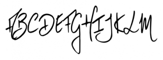 Vividangelo Script Font UPPERCASE