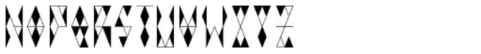 VIGA Bold Font LOWERCASE