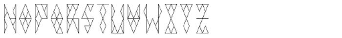 VIGA Font UPPERCASE
