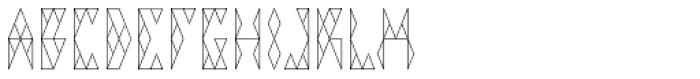 VIGA Font LOWERCASE