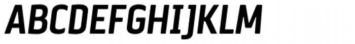 Via Sans Bold Italic Font UPPERCASE