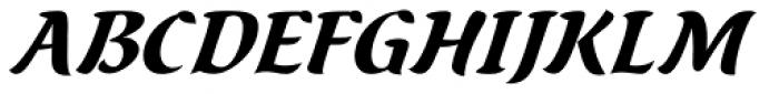 ViabellaT H Pro Bold Italic Font UPPERCASE