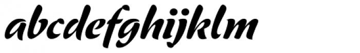 ViabellaT H Pro Bold Italic Font LOWERCASE