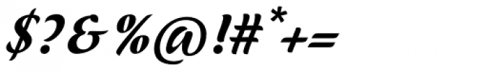 ViabellaT H Pro Medium Italic Font OTHER CHARS