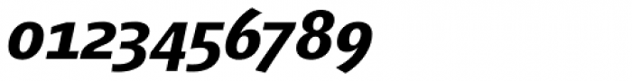 Vialog Bold Italic Oldstyle Figures Font OTHER CHARS