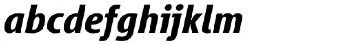 Vialog Bold Italic Oldstyle Figures Font LOWERCASE