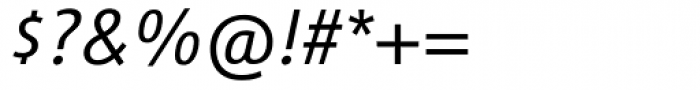 Vialog Light Italic Oldstyle Figures Font OTHER CHARS