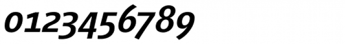 Vialog Medium Italic Oldstyle Figures Font OTHER CHARS