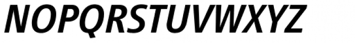 Vialog Medium Italic Oldstyle Figures Font UPPERCASE