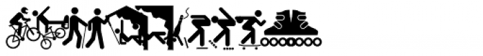 Vialog Signs Sport Font UPPERCASE