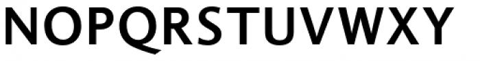 Vianova Sans Pro Bold Font UPPERCASE