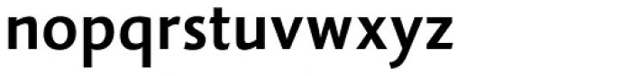 Vianova Sans Pro Bold Font LOWERCASE