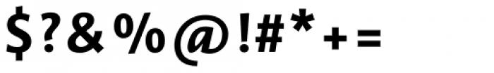 Vianova Sans Pro Extra Bold Font OTHER CHARS