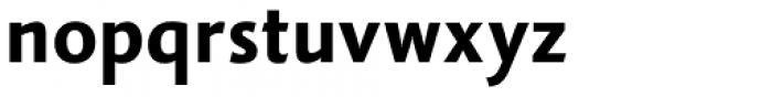 Vianova Sans Pro Extra Bold Font LOWERCASE