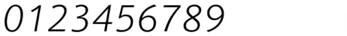 Vianova Sans Pro Light Italic Font OTHER CHARS