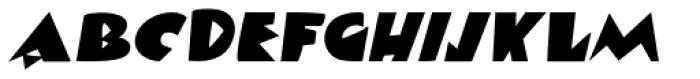 Viareggio Italic Font UPPERCASE
