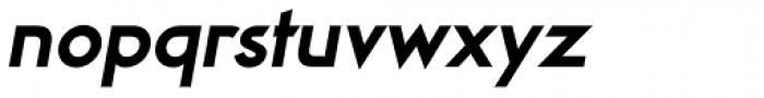 Viata Extrabold Oblique Font LOWERCASE