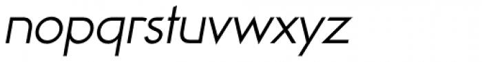 Viata Light Oblique Font LOWERCASE
