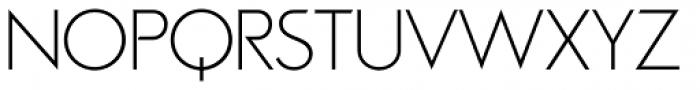 Viata Thin Font UPPERCASE