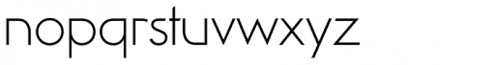 Viata Thin Font LOWERCASE