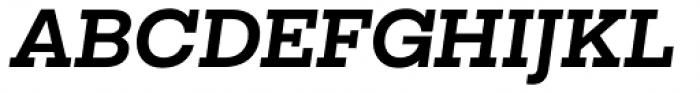 Vicky Bold Italic Font UPPERCASE