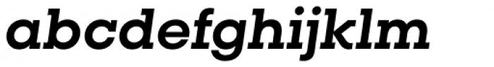 Vicky Bold Italic Font LOWERCASE