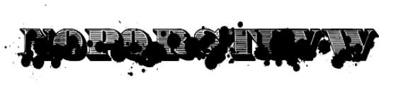 Victorian Monkey Font UPPERCASE