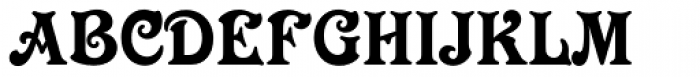 Victorian Std Font UPPERCASE