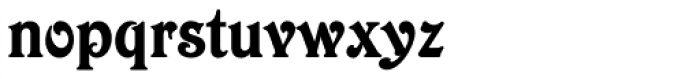 Victorian Std Font LOWERCASE