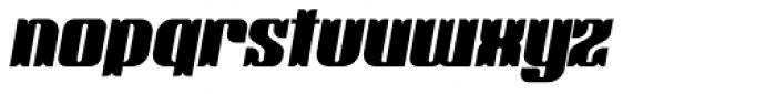 Victorina Black Italic Font LOWERCASE
