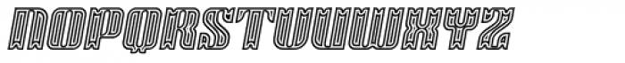 Victorina Circus Black Italic Font UPPERCASE